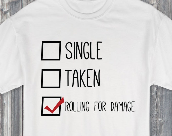 Single Taken Rolling for Damage 100% Soft Cotton Relationship Shirt