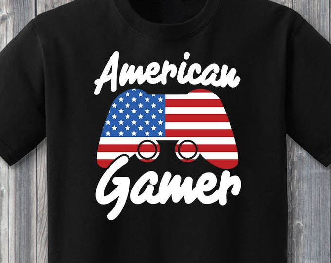 American Gamer 100% Soft Cotton Shirt