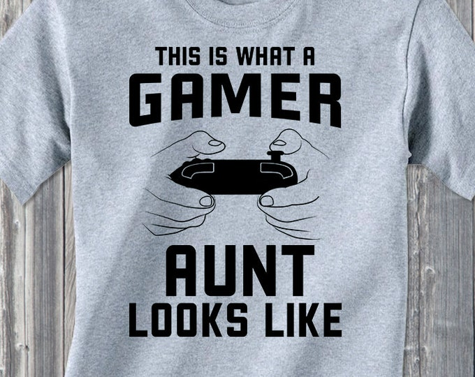 Gamer Aunt 100% Soft Cotton Gaming Shirt