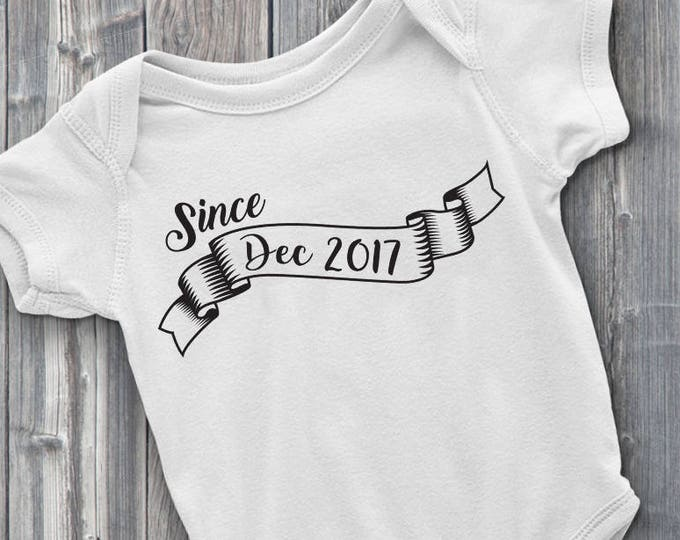 Customizable Baby's Birthday 100% Soft Cotton ONESIE