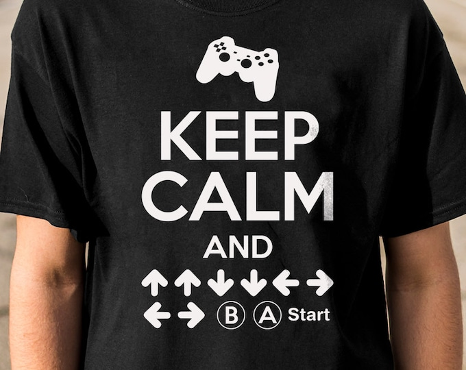 Keep Calm Combo 100% Soft Cotton Gamer Shirt