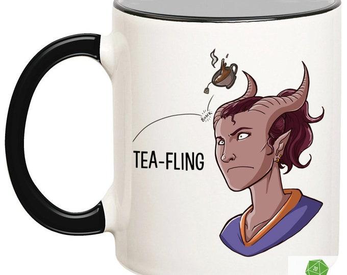 Female Tea-Fling Mug