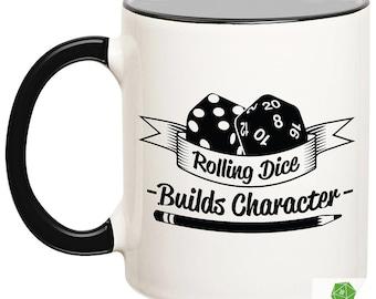 They See Me Rollin D20 Coffee Mug Tea Cup 12 oz