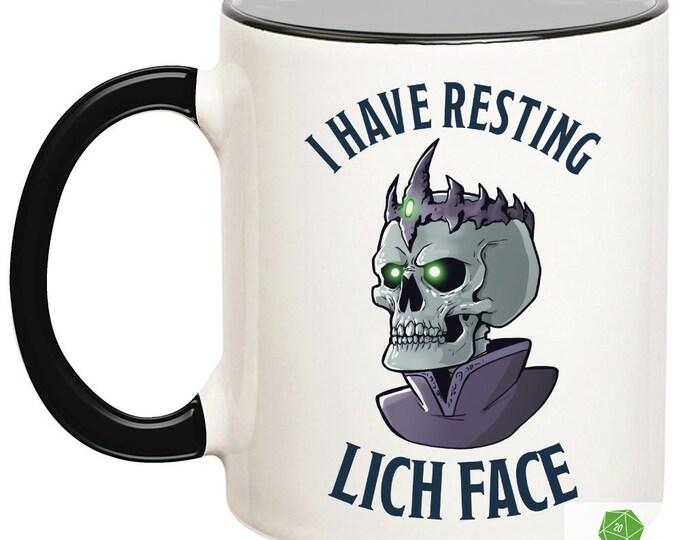 Resting Lich Face Mug