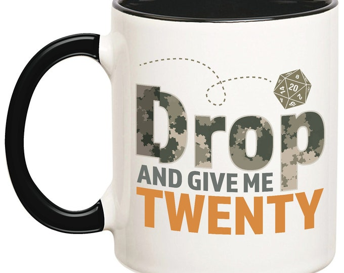 Drop And Give Me 20 Mug