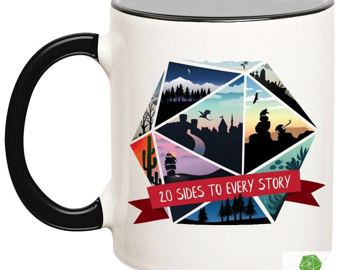 20 Sides To Every Story Mug