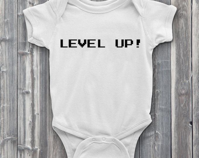 Level up 100% Soft Cotton Gamer ONESIE