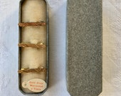 Antique lingerie pin set in box Gold plated or filled Victorian or Edwardian Very good condition