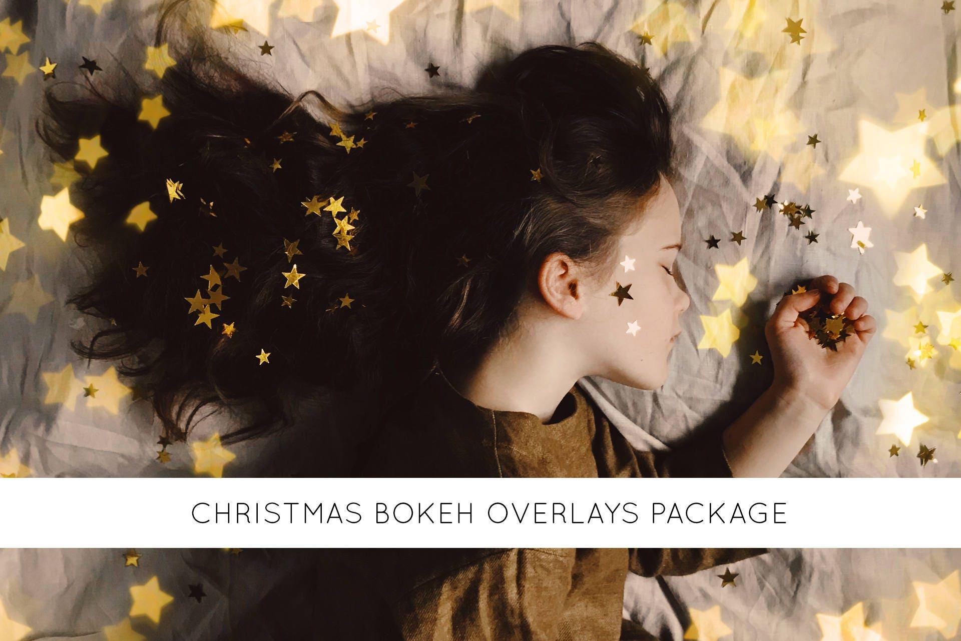 16 christmas light overlays, christmas bokeh overlay, christmas bokeh  lights, christmas bokeh photoshop overlays, gold bokeh, bokeh overlay
