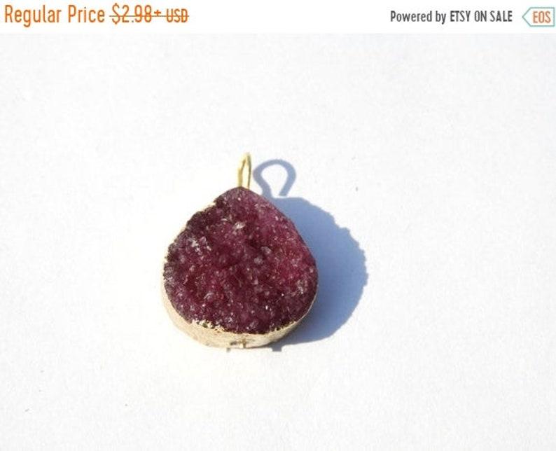 On Sale Druzy Pendant/Wholesale Druzy/Double Color Druzy image 0