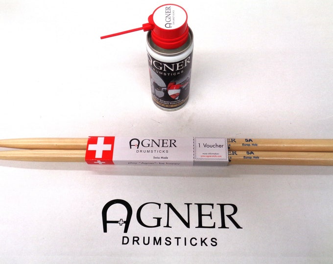 Agner Drumsticks Drum Lube Bundle a budget No. 19