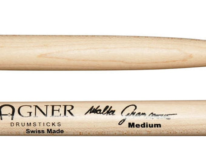 Agner Drumsticks Signature Sticks Walter Grassmann Medium Maple