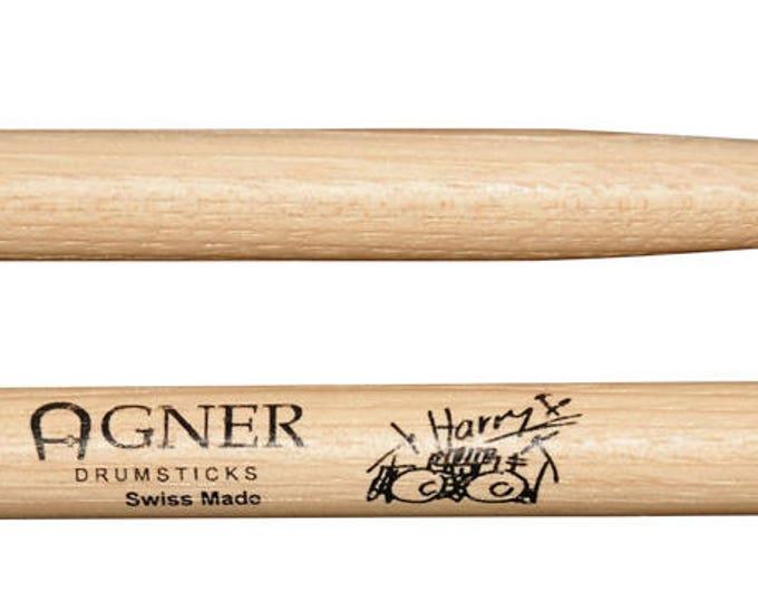 Agner Drumsticks Signature Sticks Reischmann Harry Hickory