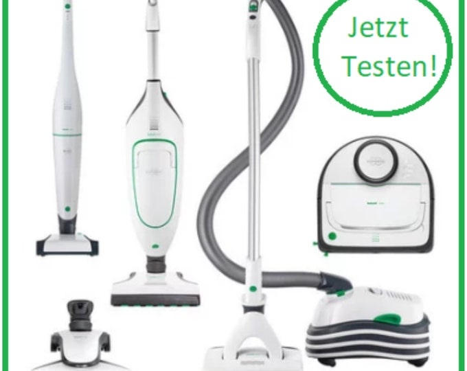Germany-wide Free Vorwerk Goblin Series Testing Your pre-work trade representation presents it to you quite non-binding free of charge!!!