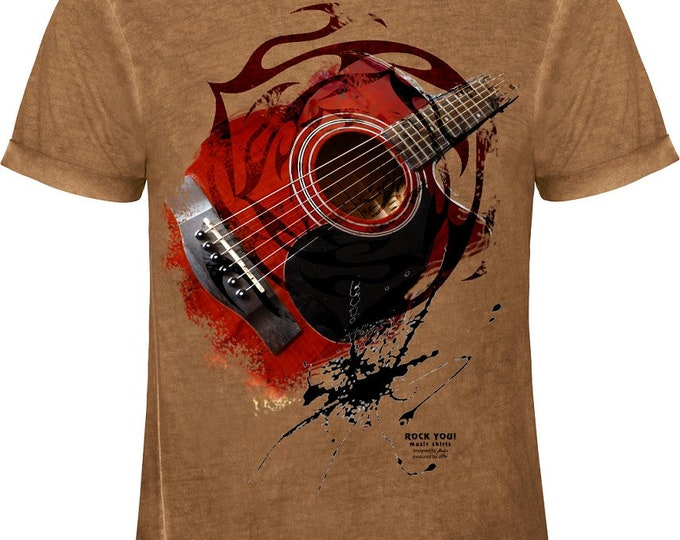 Rock You music T shirt down to earth S M L XL XXL