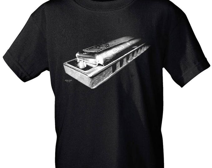 Rock You music t shirt harmonica s M L XL XXL