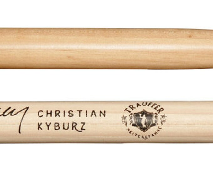 Agner Drumsticks Signature Sticks Kyburz Christian Hickory