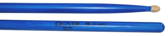 Agner Drumsticks 5b UV Blue
