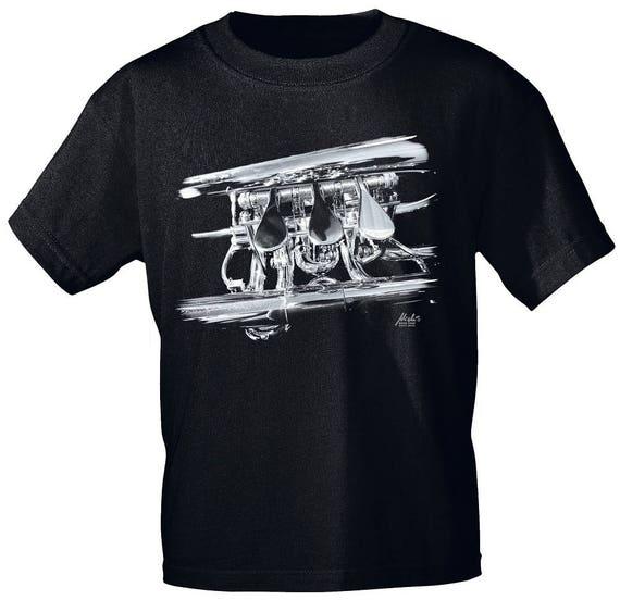 Rock You music t-shirt flugelhorn detail S M L XL XXL