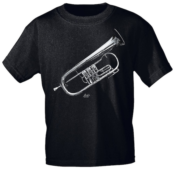 Rock You music T shirt flugelhorn Trad s M L XL XXL