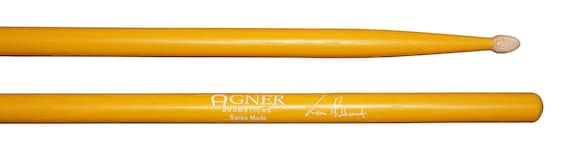 Agner Drumsticks Signature Sticks Robbemont Lean Hickory