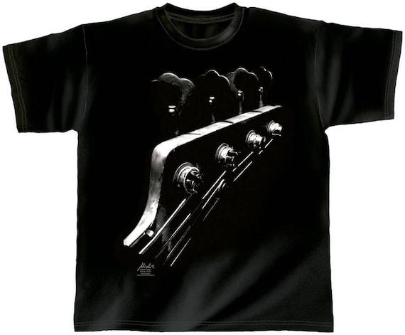 Rock You music T shirt space bass S M L XL XXL