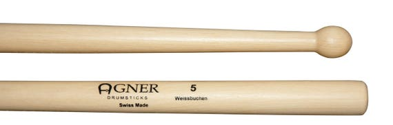 Agner Drumsticks Marching No 5 Hornbeam