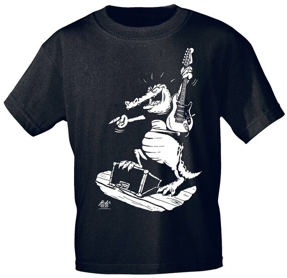 Rock You music T shirt guitar Gator S M L XL XXL