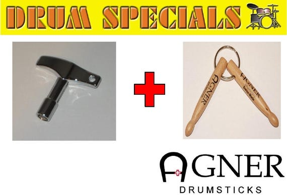 Agner Drumsticks Key Holder bundle No. 3