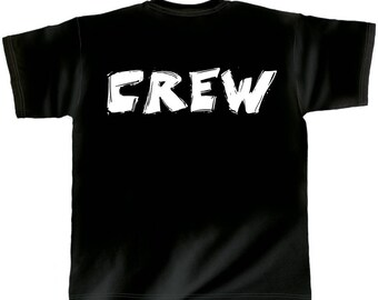 Rock You music t shirt crew Rock n Roll back to back S M L XL XXL