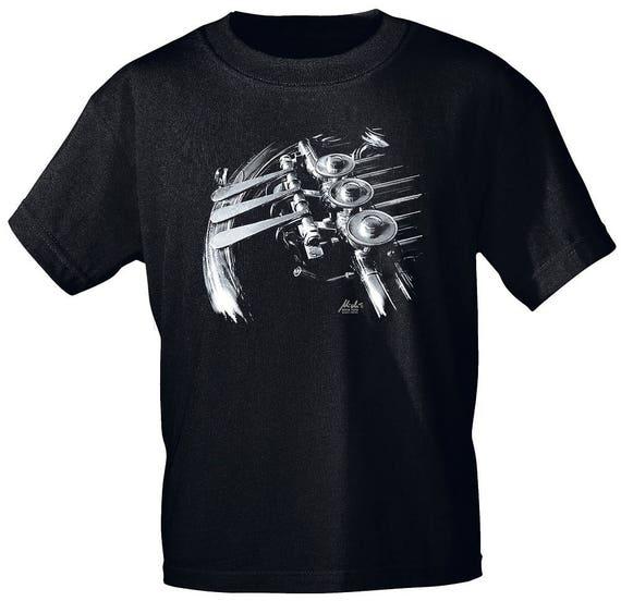Rock You music t shirt French horn valves S M L XL XXL