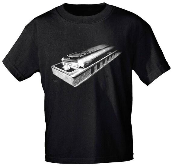 Rock You music t shirt harmonica s M L XL XXL