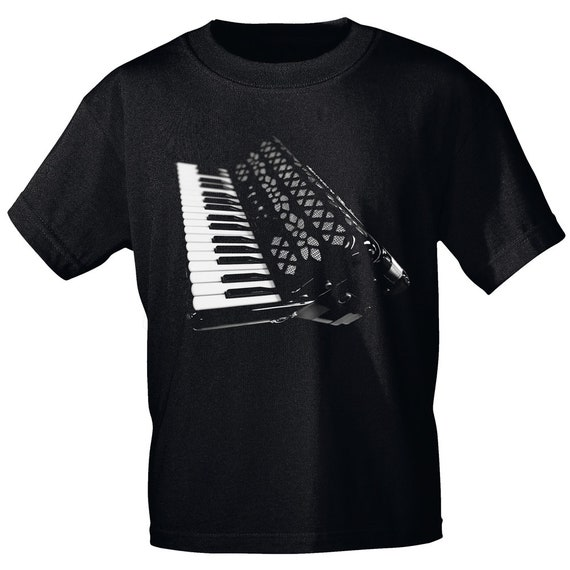 Rock You music t shirt accordion S M L XL XXL