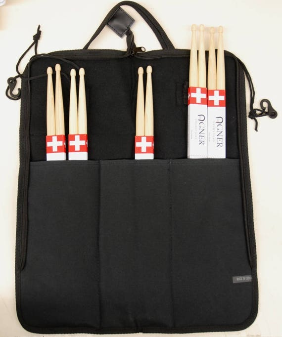 Agner Drumsticks stick bag by choice by Choice Bundle No. 12
