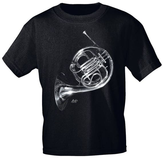 Rock You music T shirt French horn S M L XL XXL