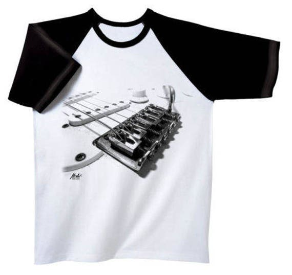 Rock You music T shirt guitar mech S M L XL XXL