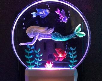 Mermaid Night Light