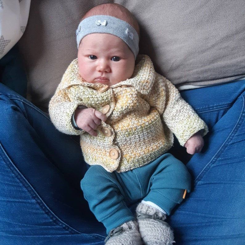 US terms crochet pattern 'Baby Jacket' image 0