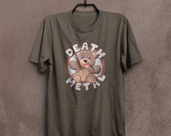 Death Metal Teddy Bear Cute Tshirt