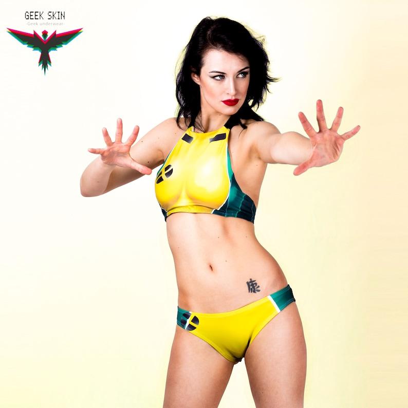 fd44b29cbaa75 Marvel rogue bikini xmen underwear xmen marvel cosplay