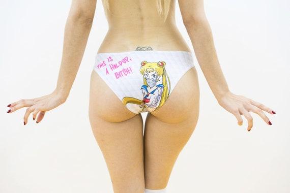902b441d4709c Sailor Moon Panties geek lingerie Anime underwear Geek gift
