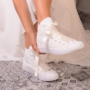 wedding converse scarpe