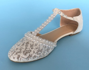 d70ce22a4bf Wedding shoes for bride flats