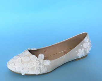 5a5cb3332bae More colors. Lace wedding shoes for bride ...