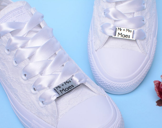 0646850d14459 Wedding shoes, Converse Trainers, Bridal sneakers