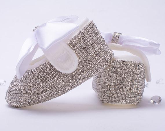 Wedding ballerina flats, Ivory wedding shoes