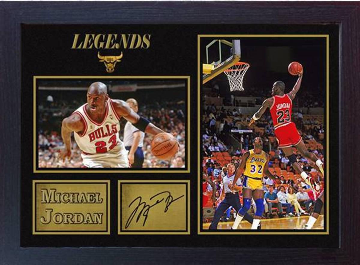 Signiert Autogramm Michael Jordan NBA Basketball | Etsy