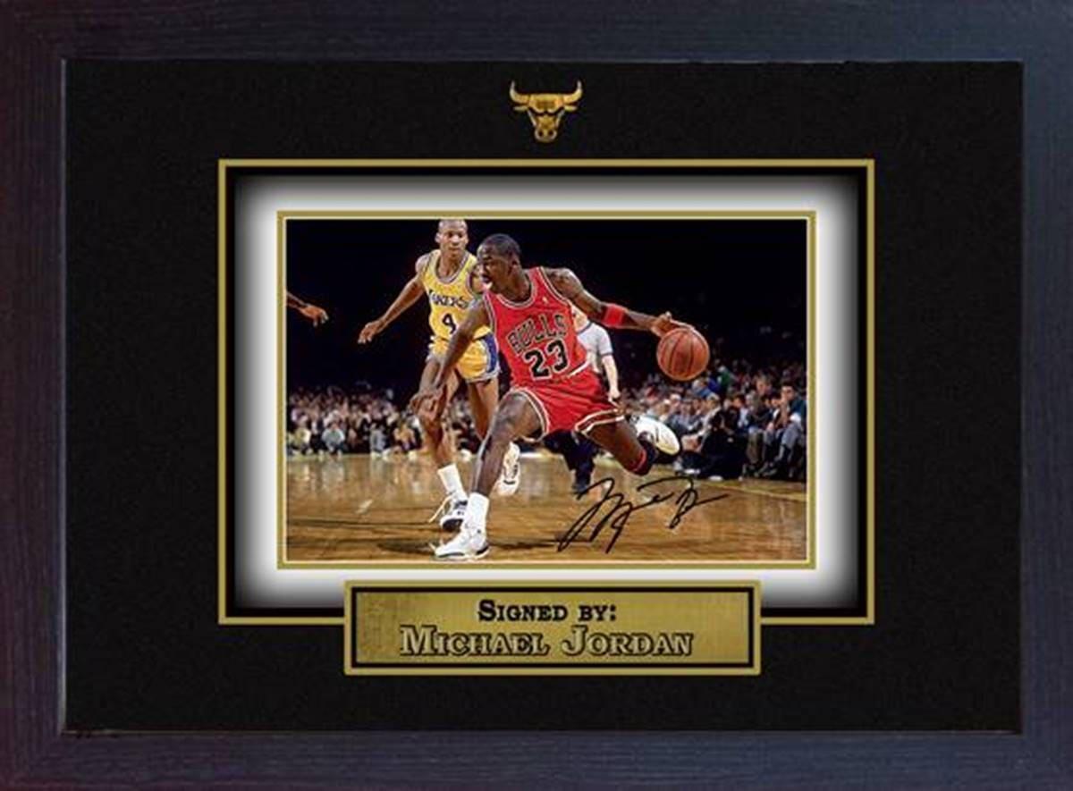 Michael Jordan signiert Autogramm Basketball Erinnerungsstücke | Etsy