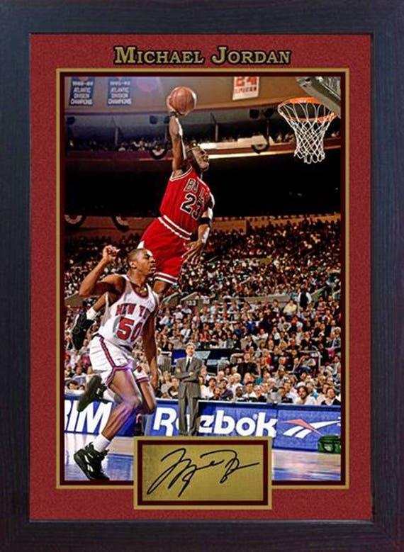 Michael Jordan signed autograph Basketball photo print NBA  215691f74