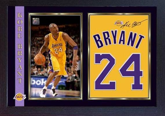 eac18e218bf Kobe Bryant LA Lakers NBA signed autograph photo print picture